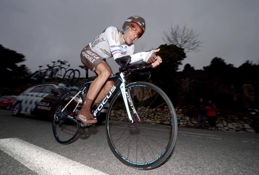 Jean-Christophe Péraud, 9e en 2011, reste l'une des valeurs sûres du peloton à 36 ans