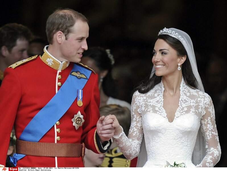 Elle se marierait avec un prince et deviendrait Duchesse de Cambridge le 29 avril 2011