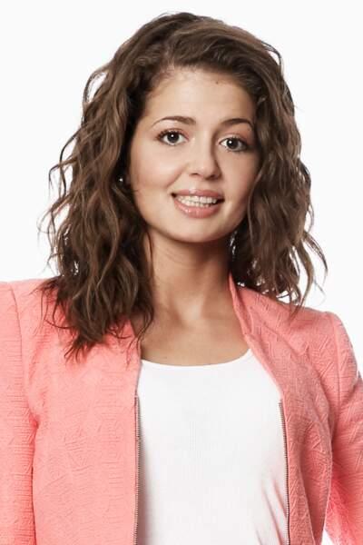 Melissa, étudiante en langues à Bruxelles