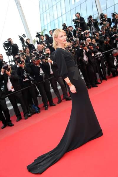 Cate Blanchett à la présentation du film Sicario.