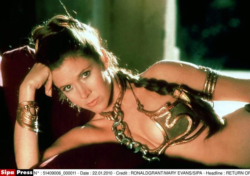 Leia et son bikini du Retour du Jedi : un souvenir ému pour de nombreux fans