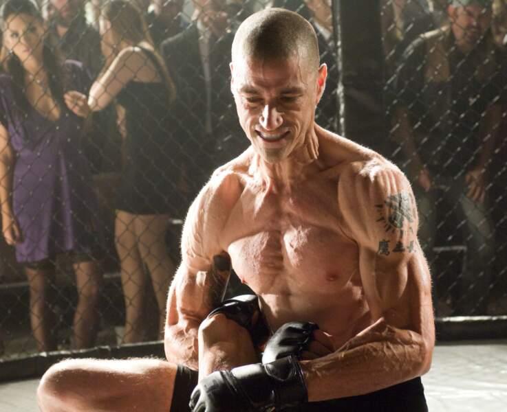 Changement physique après Lost pour Matthew Fox, ici dans le film Alex Cross (2012)