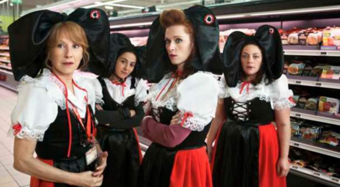 Les Reines du Ring (2013) : Nathalie Baye, Marilou Berry et Emilie Gavois-Kahn