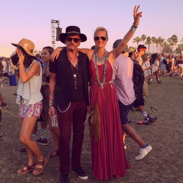 En mode hippie au festival de Coachella