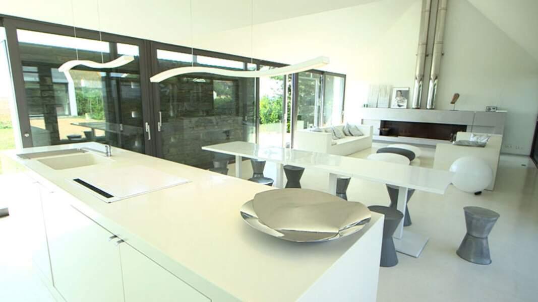 La Maison « Longère contemporaine », qui fait tout de même 310 m2 !