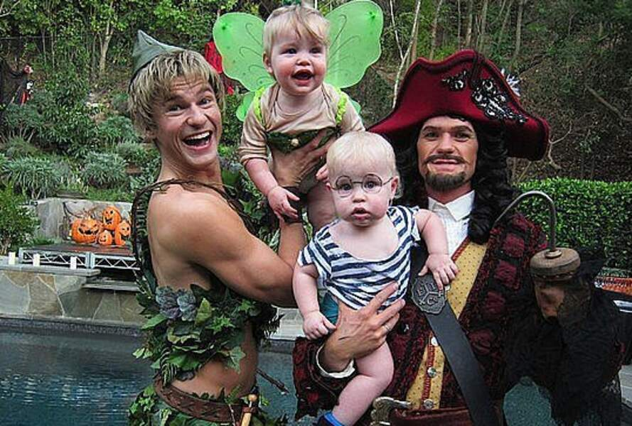 Allez hop, toute la famille en Peter Pan