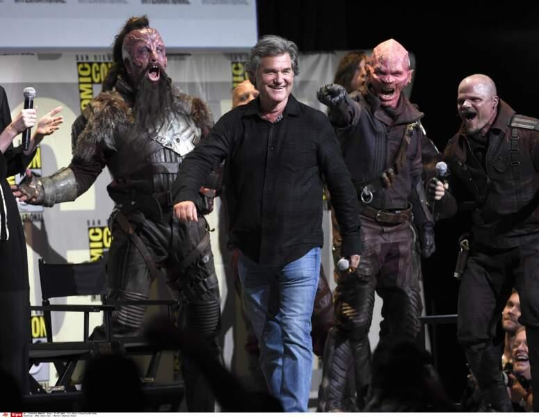 Nouveau au casting : Kurt Russell qui jouera le père de Star Lord (alias Chris Pratt)