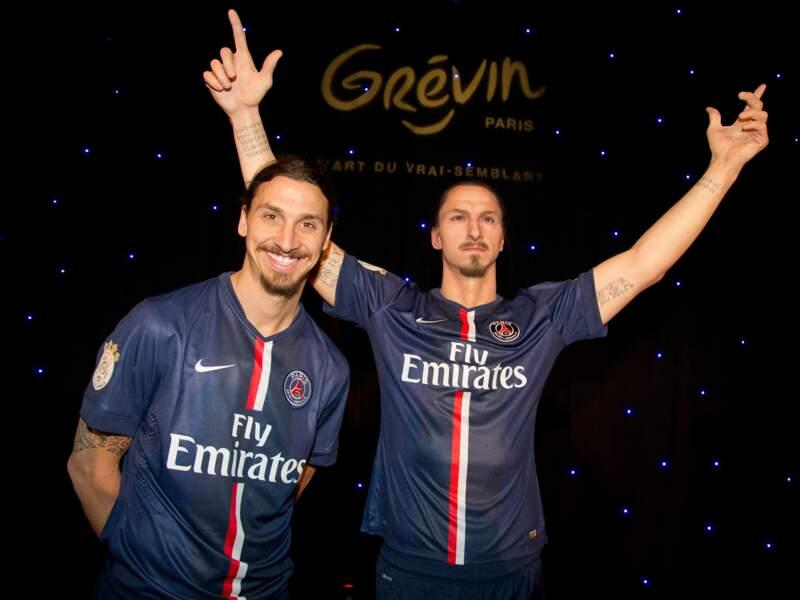 Zlatan Ibrahimovic, comme un dieu à Grévin