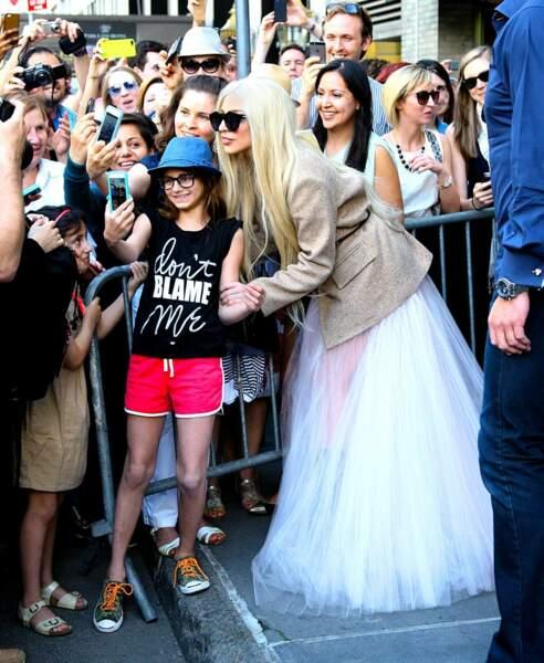 Lady Gaga est une petite chanceuse.