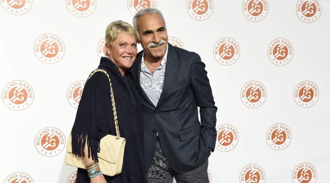 Mansour et Frédérique Bahrami, heureux de découvrir le Petit Palais