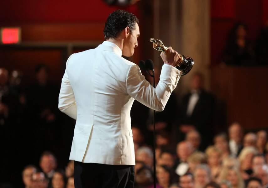 Vu des coulisses : Matthew McConaughey, sacré Meilleur acteur pour Dallas Buyers Club