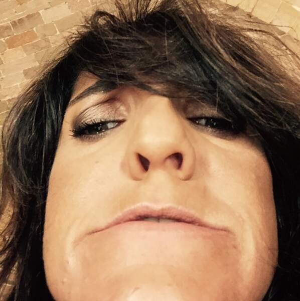 Florence Foresti a-t-elle la grosse tête ? La preuve par l'image.