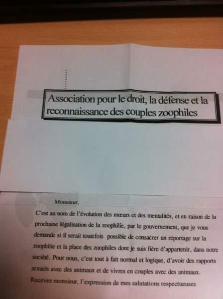 Matthieu Delormeau reçoit des lettres flippantes...