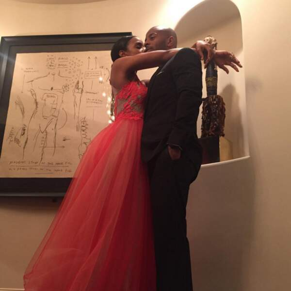 L'amour fou (en robe de soirée) chez Kelly Rowland.