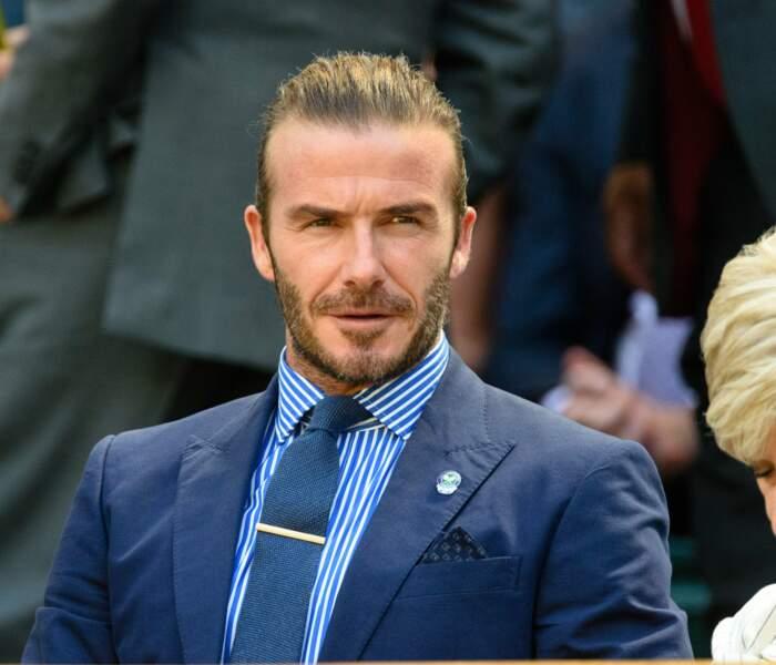 En bon gentleman, David Beckham ne raterait Wimbledon pour rien au monde