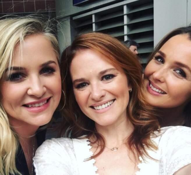 Jessica Capshaw, Sarah Drew, Camilla Luddington... les filles avaient le sourire