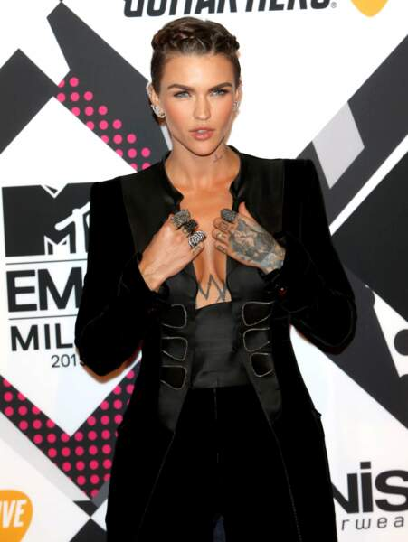 Ruby Rose, l'animatrice des MTV EMA 2015
