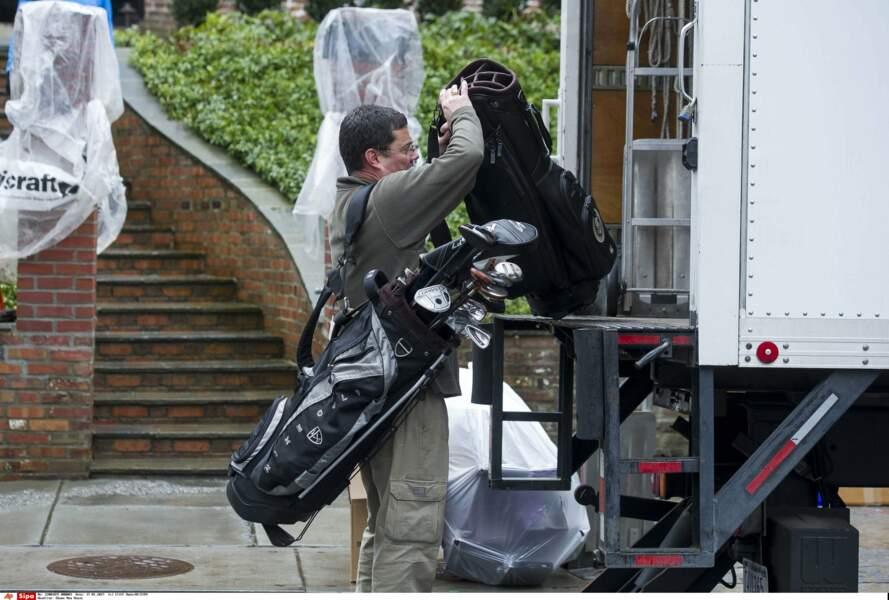 Ne reste plus qu'à ranger les clubs de golf !