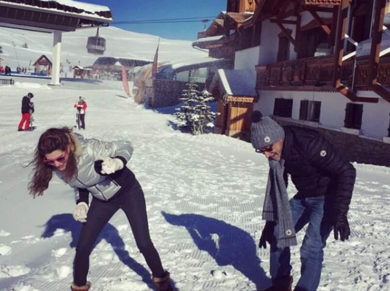 Bataille de neige avec Patrick Bosso : deux Marseillais à la montagne (Festival de l'Alpe d'Huez)