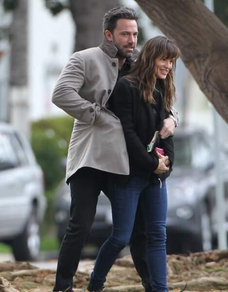 En décembre dernier, Jennifer et Ben étaient encore proches...
