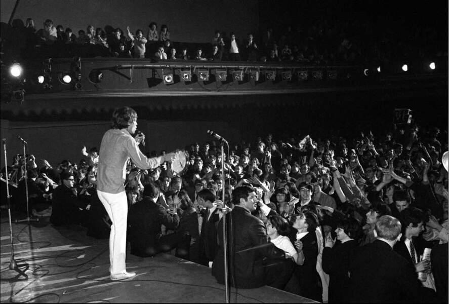 Les Stones à l'Olympia de Paris, le 29 mars 1966