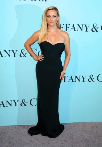 Reese Witherspoon a sorti LA petite robe noire pour l'occasion. Toujours efficace