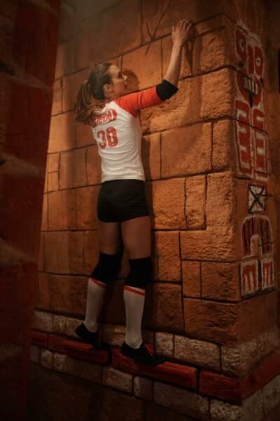 Vous allez découvrir cette saison Le temple Maudit, une cellule aux décors de temple aztèque