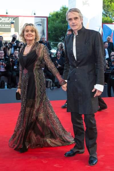 Le couple Sinead Cusack et Jeremy Irons