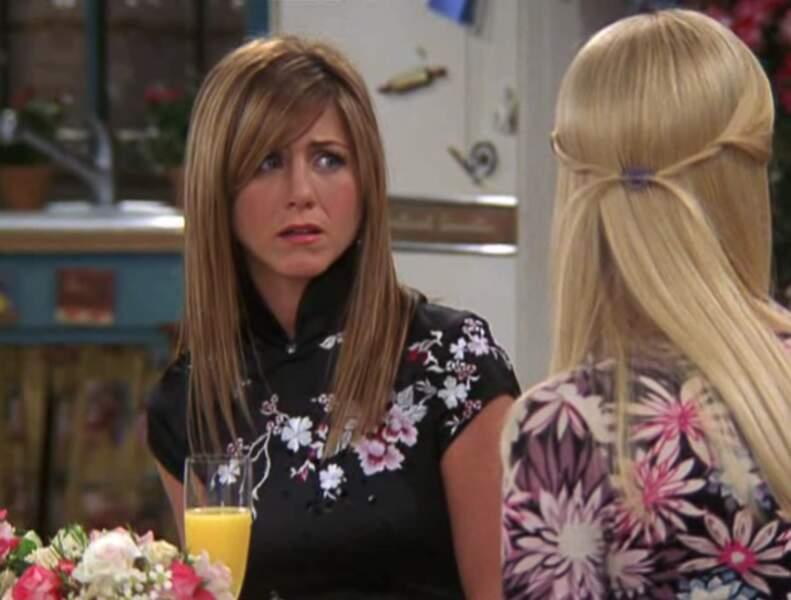 Rachel, à part une coupe ajustée, est toujours la même.