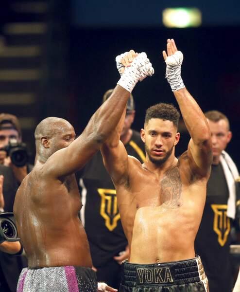 Ce samedi 14 octobre, Tony Yoka a triomphé de l'Américain Jonathan Rice pour son deuxième combat professionnel