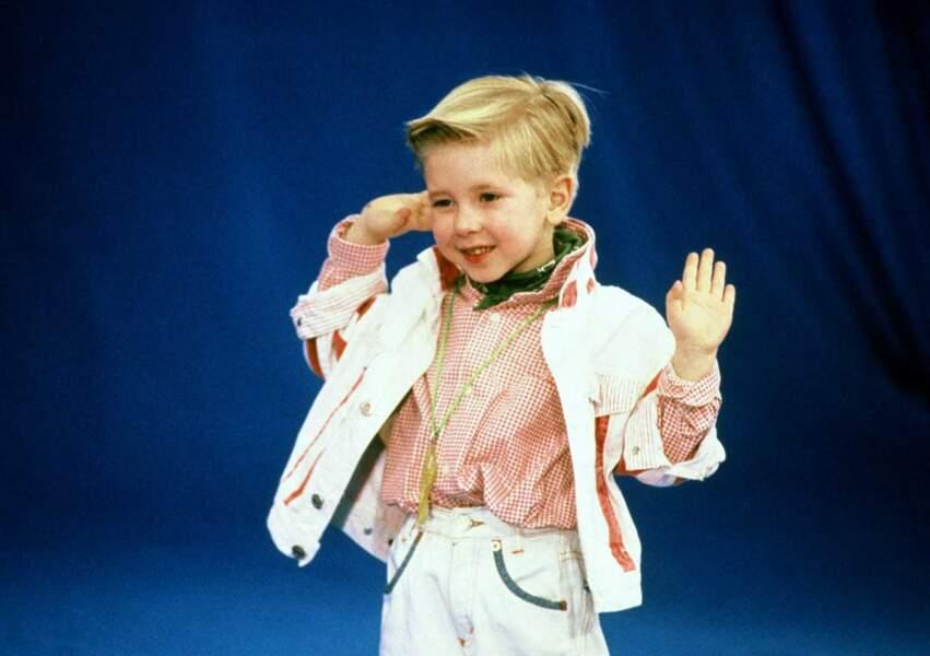 """A 4 ans, Jordy devient une superstar, même à l'étranger, grâce au titre """"Dur dur d'être bébé !"""""""