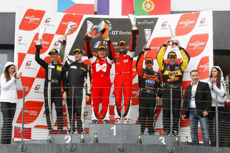 Depuis 2008, Fabien Barthez s'adonne régulièrement à sa passion pour la course automobile