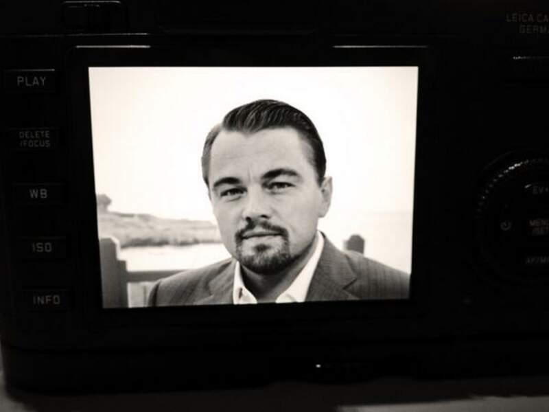 Après Nicole Kidman hier, Nikos a rencontré Leonardo DiCaprio aujourd'hui... (soupir)