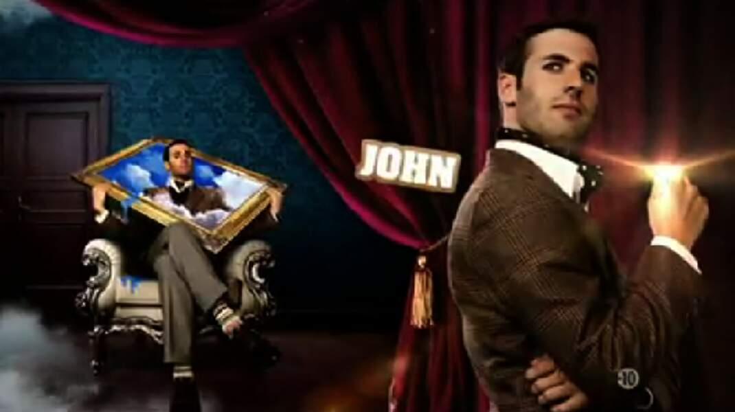 """John (Saison 4). Son secret : """"Je suis le petit-fils du père des Schtroumpfs"""""""