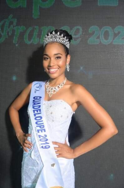 Clémence Botino est devenue Miss Guadeloupe 2019 le le samedi 3 août au Gosier