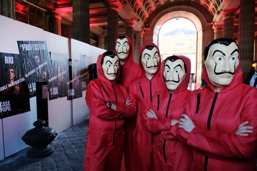 Lundi 15 juillet, Netflix a organisé une soirée La Casa de Papel à la Monnaie de Paris