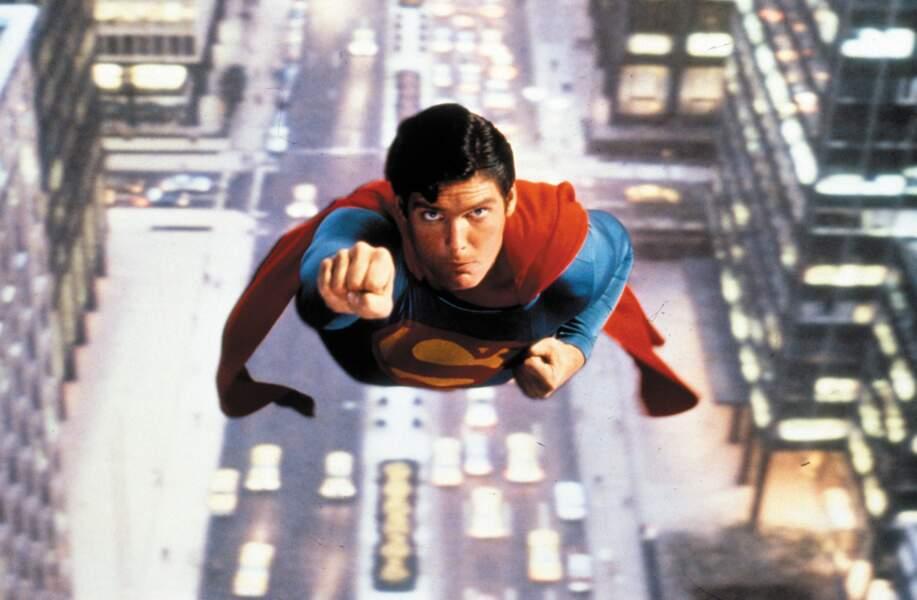 Christopher Reeves, inoubliable homme d'acier dans Superman (1979)
