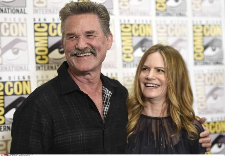 ...ou encore Kurt Russell et Jennifer Jason Leigh