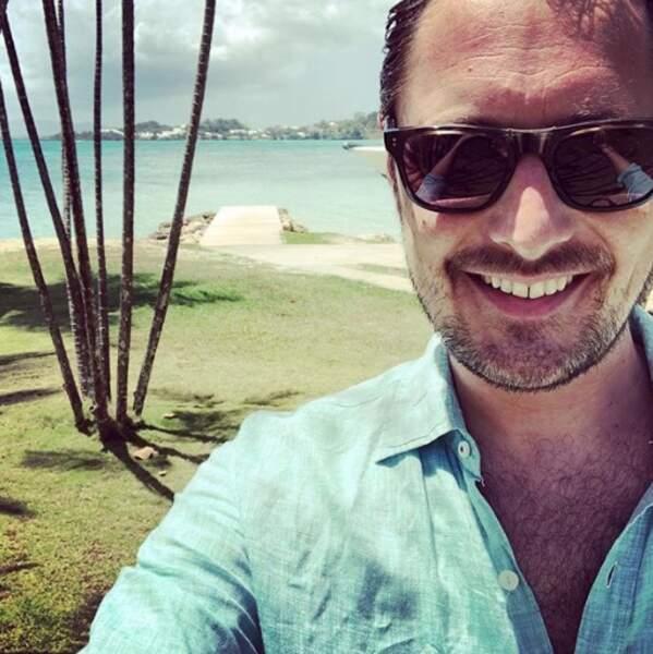 Ce veinard de Vincent Cerutti était à la Guadeloupe.