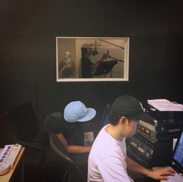 Nekfeu est en studio au Japon. Tranquille.