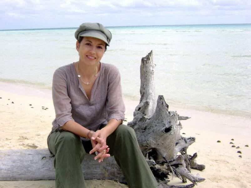 ... et là tranquillou sur une plage des Bahamas.