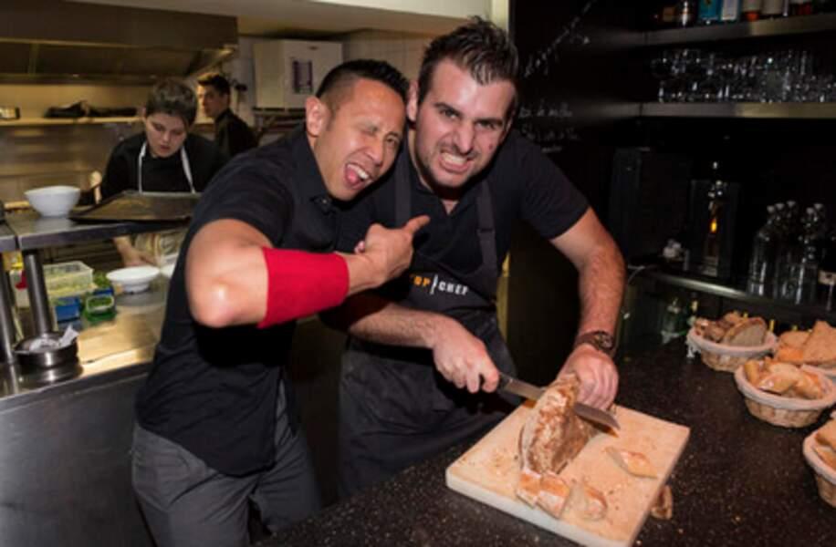 Fabien de Top Chef nous apprend à découper le pain...