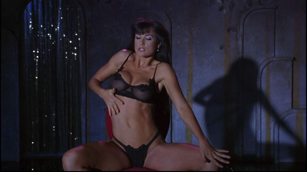 Demi Moore dans Strip-Tease