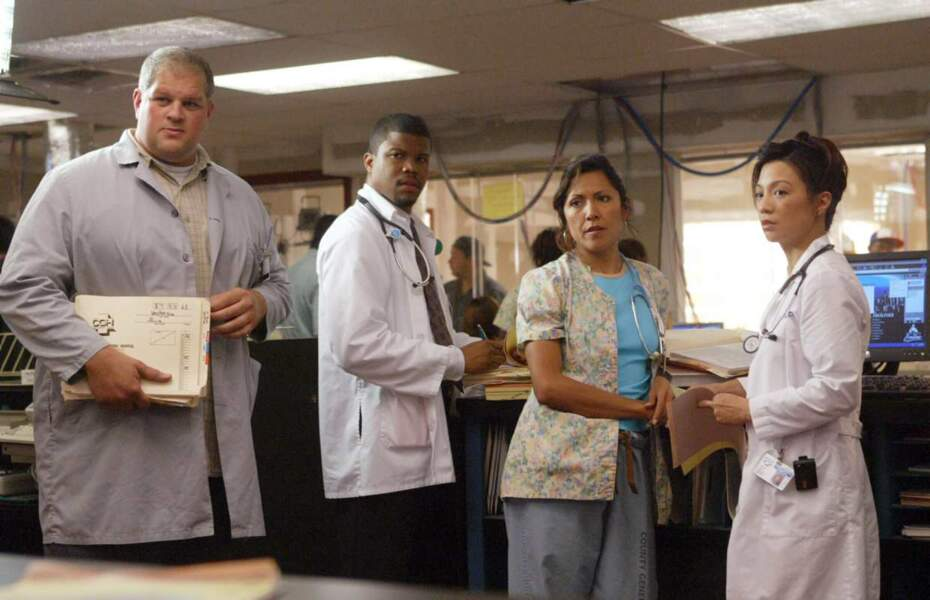 Le docteur Michael Gallant interprété par Sharif Atkins