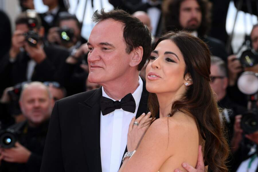 Quentin Tarantino et sa femme Danielle Pick sont revenus pour la clôture du festival