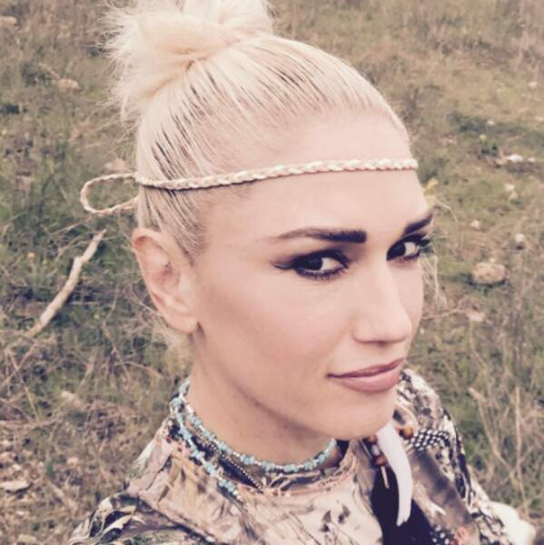 Point cheveux : on n'aime pas trop la coiffure de Gwen Stefani.