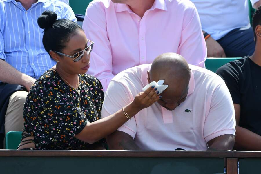 Lakiha Spicer aux petits soins pour son époux Mike Tyson