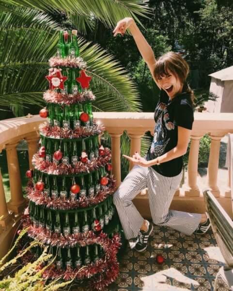 Bon, c'est pas tout ça mais Noël approche à grand-pas selon Ana Girardot.