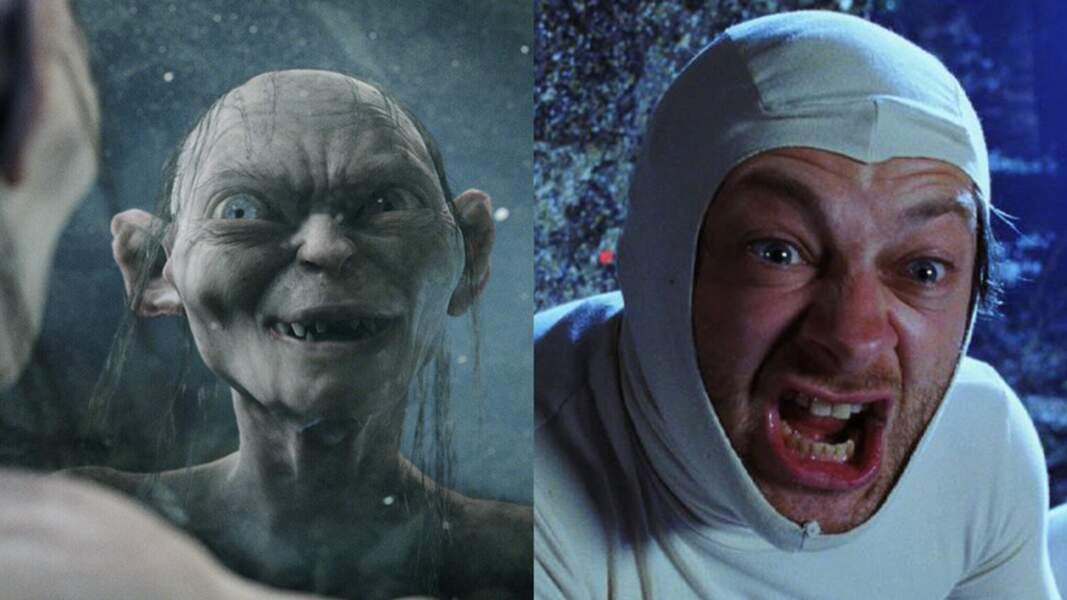 Andy Serkis en Gollum pour Le Seigneur des Anneaux (2002) de Peter Jackson