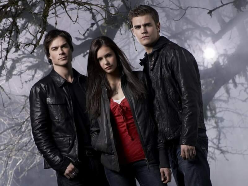Le trio phare de Vampire Diaries